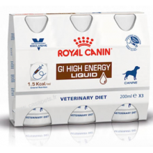 Vdiet Dog Gastro intestinal high energy liquide