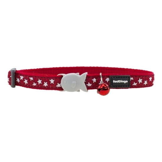 Collier Chat Etoile Red Dingo