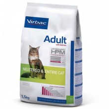 Virbac Vet HPM Cat Adult Neutered & Entire au Saumon