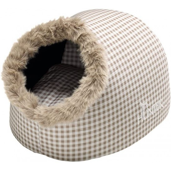 Casapets-Hunter-igloo-astana-beige