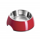 Casapets-Hunter-gamelle-melamine-inox-rouge